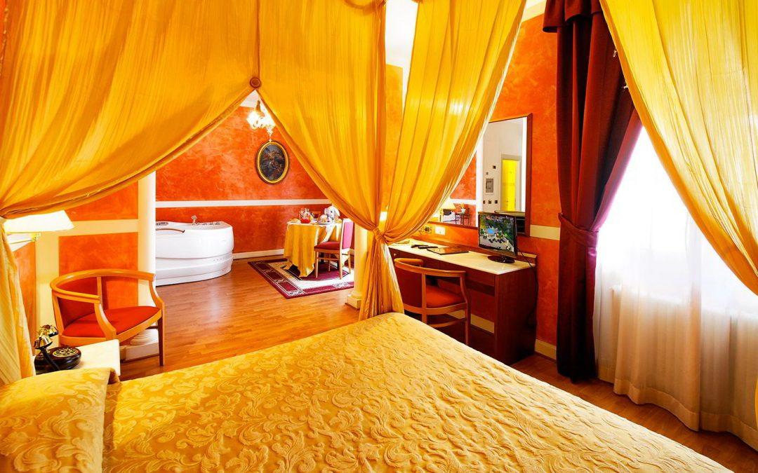 Soggiorno 1 notte in suite con vasca idromassaggio e for Soggiorno e spa